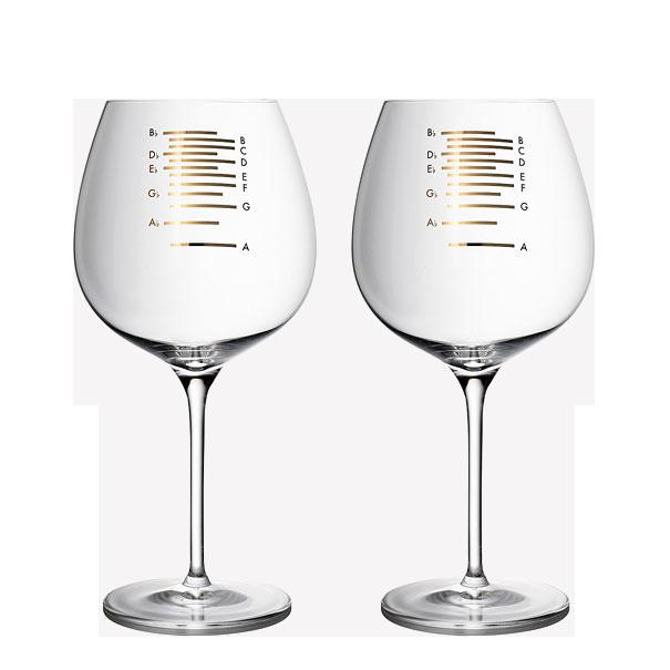 Музикални чаши за вино (2)