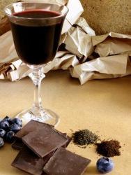 Шоколад в съчетание с вино