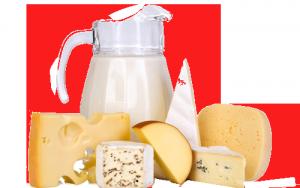 Включете в менюто си млечни продукти