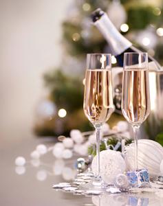 Бяло вино за бъдни вечер