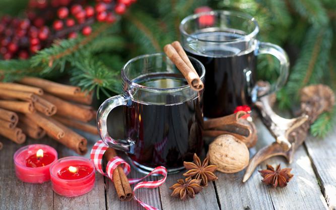 Греяно вино за Коледа.