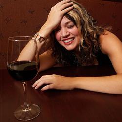 Пиянство с червено вино