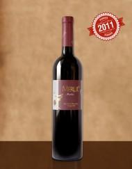 Червено вино Мерул Мерло Резерва 2011, Винарска изба Румелия - Панагюрище