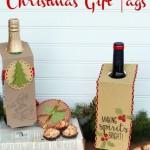 Картички за вино за Коледа