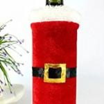 Коледно облекло за бутилка - Дядо Коледа