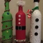 Идеи за ураса на бутилки вино с кледни мотиви