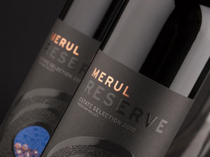 Red wines Merul Reserve